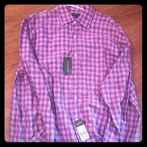 Men's linen casual shirt